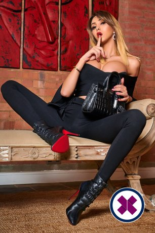 TS Morgan is a super sexy Italian Escort in Westminster